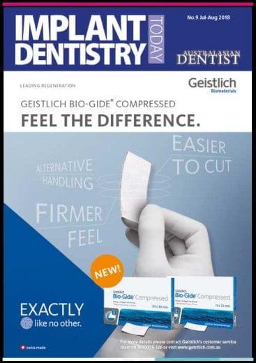 Implant Dentistry Today - Australasian Dentist