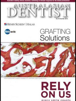 Dental Magazine Issues - Australasian Dentist